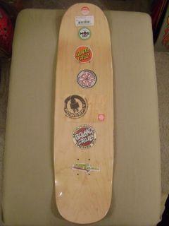 Santa Cruz Eric Dressen Screaming Tattoo Hand Skateboard Deck