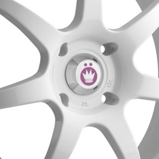 Konig Forward 16x7 10x100 114 3 ET40 White Wheels Fit Celica Corolla