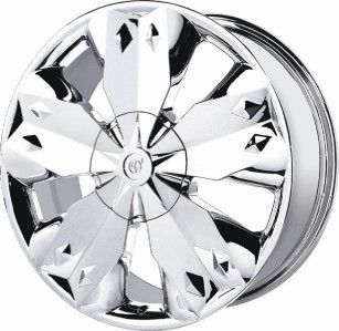 18 inch Verde Diamond Chrome Wheels Rims 5x115 Challenger STS Impala