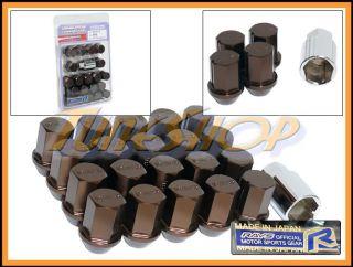 35MM WHEELS LOCK LUG NUTS 12X1.5 1.5 ACORN RIM FORGED DURA BRONZE 20 H