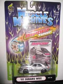 RARE Collector Muscle Machines Import Tuner Hot Car 1 64 Wheels
