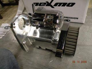RSD Transmission Polished 6 Speed Ironhorse Custom Chopper Wide Tire