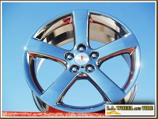 OF 4 NEW 18 PONTIAC SOLSTICE OEM CHROME WHEELS RIMS G6 6601 EXCHANGE