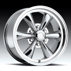 17 inch Vision 141 Legend 6 Chrome Wheels Rim 6x135 19