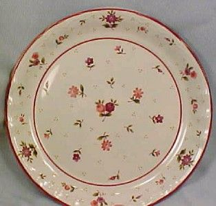 Pretty Roseland Salad Plate Mikasa Pink Purple Flowers