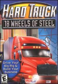 Hard Truck 18 Wheels of Steel PC CD Drive Big Rig Wheeler Haul