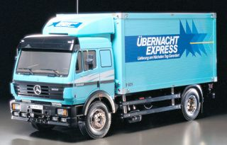 Tamiya 3 Speed 1 14 R C Mercedes Benz 1 850L Delivery Truck Kit 56307