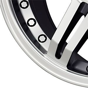 New 17X8.5 6 139.7 G Fx Or7 Black Machined Face Wheel/Rim