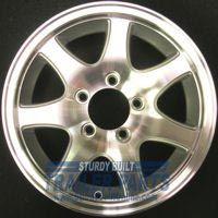 Boat Trailer Wheels Rims 14 Aluminum 5 Bolt