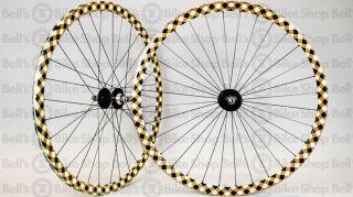 Velocity Deep V Track Wheels Buffalo Plaid Fixed Gear