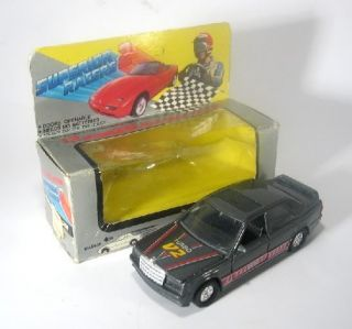 Vintage Superior Racers 2 Mercedes Benz Scale Toy Car