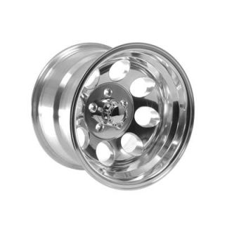 Summit Racing 164 5165P Wheel, 164 Series, Aluminum, Polished, 15 in