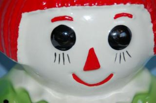 Real McCoy 151 USA Raggedy Ann Vintage Biscuit Cookie Jar