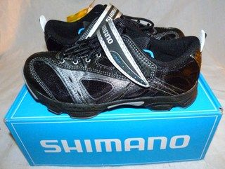 Shimano SH FN23 Blk Blue SPD MTB Bike Cycling Shoes UK 3 EU 36 Brand