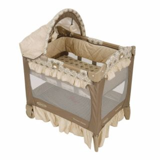 Graco Travel Lite Crib 1749735 in Marlowe NEW OPEN BOX