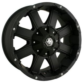 Mayhem 20x9 8030 Ford Chevy Dodge Wheel Nissan