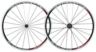 RACING 5 BLACK CLINCHER CAMPAGNOLO WHEELSET PAIR ROAD BIKE WHEELS NEW