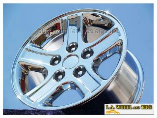 New 17 Dodge RAM 1500 Durango Factory Chrome Wheels Rims 2265