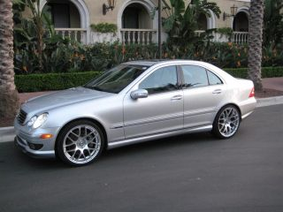 VMR 18 inch V710 Wheels Hyper Silver Mercedes W204 C Class Staggered