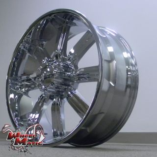 22 8x165 Dcenti DW903 Chrome Wheels Rims Well Beat Any Price