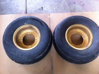 Front Wheels Rims Tires Sand Paddle Mohawk 22x8x10 4 166 Suzuki Lt