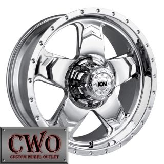 22 Chrome ion 177 Wheels Rims 5x150 5 Lug Toyota Tundra Sequoia Lexus
