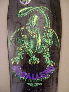 Powell Peralta Caballero Mechanical Dragon Deck Blk Grn
