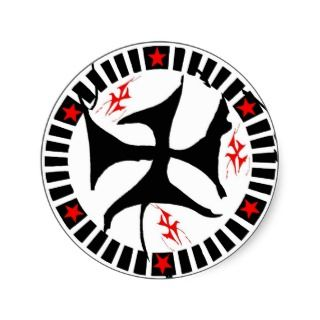 Tribal Celtic Circle Tattoo Stickers