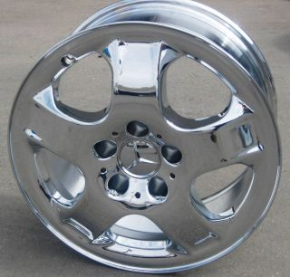 MERCEDES BENZ CHROME ML320 ML430 R350 ML500 WHEELS RIMS SET OF 4