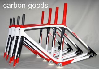 Full Carbon ISP Road Bike Frameset Racing Bicycle Frame Fork 52 54