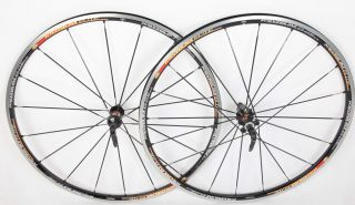 Mavic Ksyrium Elite Road Wheelset Wheels Black Shimano SRAM