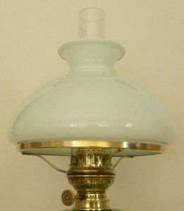 Superb Antique Ehrich Graetz Oil Lamp