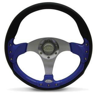 Limited Edition Steering Wheel Blue 350M M Round Saas SW501ER