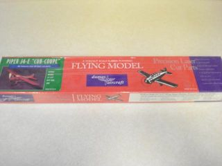 Dumas Aircraft Piper J4 E Cub Coupe Brand New Free Flight Model