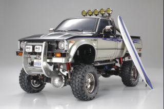 Tamiya # 58397 1/10 Toyota Hilux High Lift 4x4 3 Speed Electric Scale