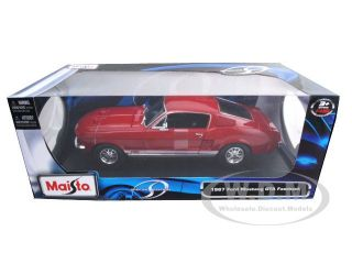 Brand new 118 scale diecast model of 1967 Ford Mustang Fastback GTA