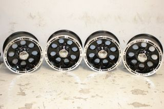 ion Alloy 174 Simulated Beadlock Wheels 17x9 5x5 5 Jeep CJ CJ7 CJ8