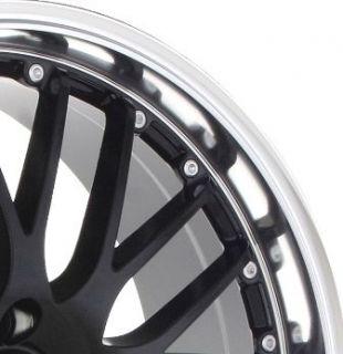 17 Netz Black Wheels Rims 4x100 Fit Civic Scion XB XA Yaris