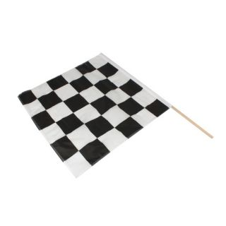 New Race Track 3 x 3 Checkered Flag
