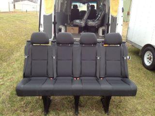 Leatherette Mercedes Benz Sprinter Seat New Limousine Passenger Seat