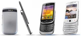 Blackberry Torch 9810 8GB White at T Unlocked FedEx