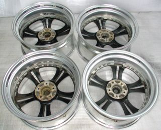 Deep Dish SSR Fellini LS5 Alloy Rims Wheels 19 x 10J 5x114 Celsior