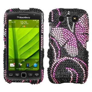 For BLACKBERRY 9850/9860(Torch) Bling Rhinestones Case Cover Fairyland