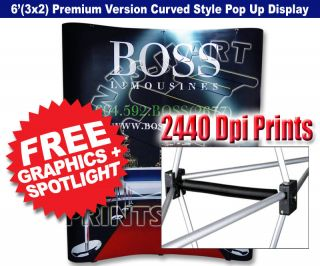 Banner Stand Trade Show Pop Up Display Exhibition Booth Display Stand