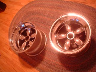 Vintage 15x10 American Racing CP 200 Chrome Plated 200S Mags Wheels