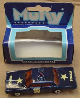 Muky Police Cruiser 1 Hot Wheels Redline Matrix Mold Argentina