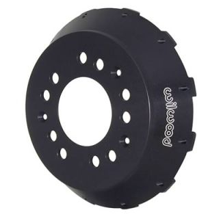 Wilwood Brake Rotor Hat GT Fixed Mount Aluminum Black 5x4 50 4 75