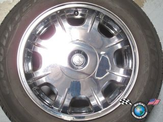 05 06 Chrysler 300 Factory 17 Chrome Clad Wheel Tire Rim 2243