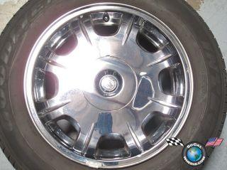 05 06 Chrysler 300 Factory 17 Chrome Clad Wheel Tire Rim 2243