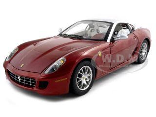 Ferrari 599 GTB Fiorano Elite Red Silver 1 18 Diecast